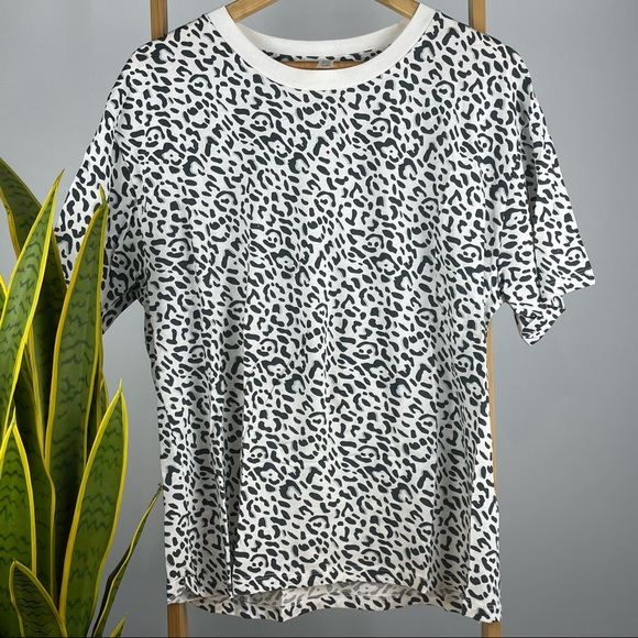 Cotton on Body Leopard Print T -Size M -Never Worn